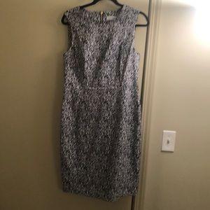 Textured knit dress